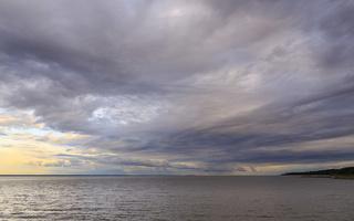 Juodkrantė · marios, debesys 1673