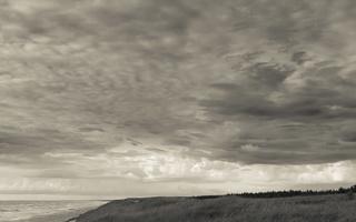 Juodkrantė · jūra, debesys 1744