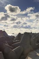 Kopgalis, pietinis molas, jūros vartai, debesys 1766