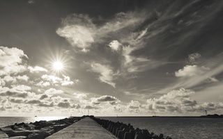 Kopgalis · pietinis molas, jūros vartai, debesys 1769