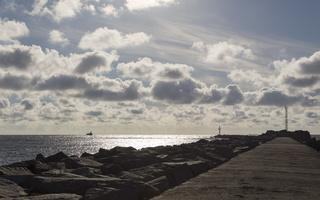 Kopgalis, pietinis molas, jūros vartai, debesys 1770