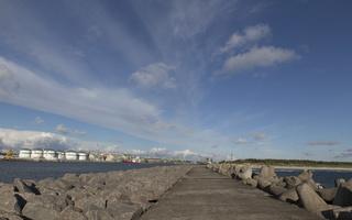 Kopgalis, pietinis molas, jūros vartai 1771