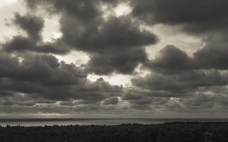Juodkrantė · debesys 1781