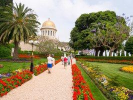 Bahai Gardens in Haifa P1030526