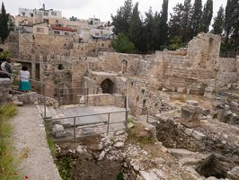Jerusalem · Pools of Bethesda P1040176
