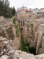 Jerusalem · Pools of Bethesda P1040180