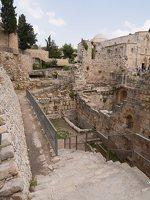 Jerusalem · Pools of Bethesda P1040196