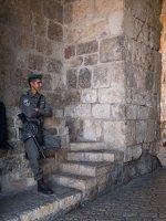 Jerusalem · Zion Gate P1040343