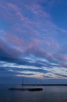Juodkrantė · marios, debesys, saulėlydis 4831