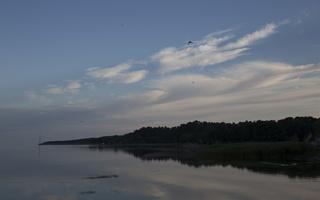 Juodkrantė · marios, debesys, saulėlydis 5062
