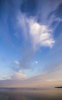 Juodkrantė · marios, debesys, saulėlydis 5064