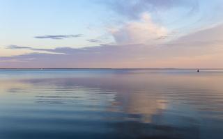 Juodkrantė · marios, debesys, saulėlydis 5065