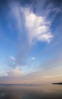 Juodkrantė · marios, debesys, saulėlydis 5066