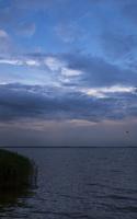 Juodkrantė · marios, debesys, saulėlydis 5077