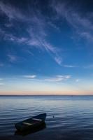 Juodkrantė · debesys, valtis 6326
