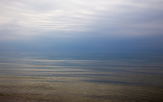 Juodkrantė · debesys, jūra 6381