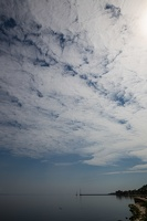 Juodkrantė · marios, debesys