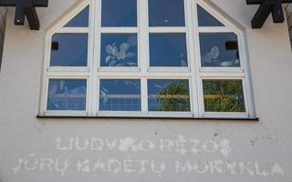 Juodkrantė · čia buvo Liudviko Rėzos jūrų kadetų mokykla