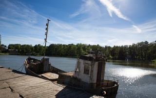Gintaro įlanka · žvejų barkasas 7668