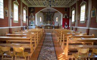 Šilėnų Švč. Mergelės Marijos bažnyčia · interjeras