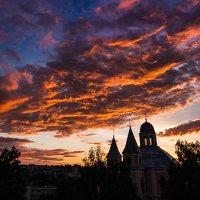 Vilniaus Trinitorių bažnyčia · saulėlydis 8581
