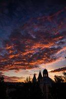 Vilniaus Trinitorių bažnyčia · saulėlydis 8584