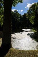 Raudonės pilies parko tvenkinys 9497