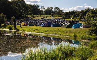 Vytėnai · baikerių stovykla šalia Panemunės pilies 9529