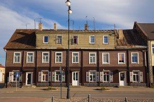 Rokiškis · medinis namas Vilniaus gatvės pradžioje 9604