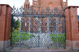 Rokiškio Šv. apaštalo evangelisto Mato bažnyčia · vartai 9632