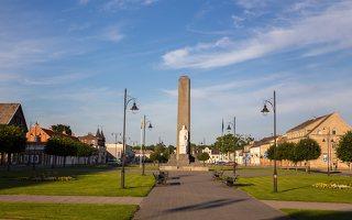 Rokiškis · Lietuvos Nepriklausomybės dešimtmečio paminklas