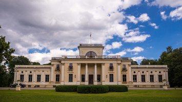Trakų Vokės dvaro rūmai · kiemo fasadas 9824