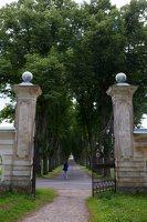 Trakų Vokės dvaro rūmai · vartai, liepų alėja 9877