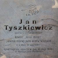 Trakų Vokė · paminklas Jonui Mykolui Tiškevičiui (1896 – 1939)