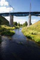 Trakų Vokė · geležinkelio tiltas 9935