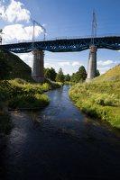 Trakų Vokė · geležinkelio tiltas 9936