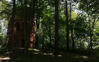 Lentvario dvaras · vandentiekio bokštas 0105