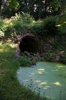 Lentvario dvaras · Andrė parkas, tvenkinys 0174