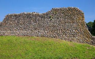 Medininkų pilis · siena 0361
