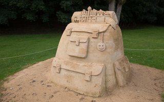 ~sand art · smėlio skulptūros
