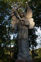 Liubavo angelas · Stefanios Slizniowos ir Teklos Rzewuskos kapo paminklo rekonstrukcija 0918