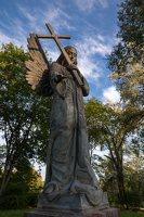 Liubavo angelas · Stefanios Slizniowos ir Teklos Rzewuskos kapo paminklo rekonstrukcija 0920
