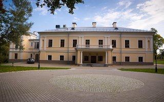 Jašiūnų dvaro rūmai · kiemo fasadas 0972