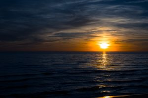 Juodkrantė · saulėlydis 3186