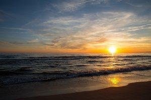 Juodkrantė · saulėlydis 3188