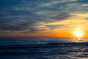 Juodkrantė · saulėlydis 3189