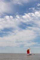 Juodkrantė · debesys, jachta 3426