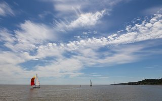 "Juodkrantė · debesys, jachta h340 ""VIZIJA"""