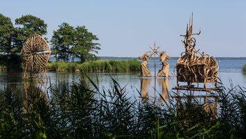 nendrinių skulptūrų simpoziumas · virsmas