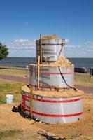 Kuršininkų sakmės · smėlio skulptūros, pradžia 2018-06-05